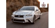 Автостекла на Lexus GS350 2013-