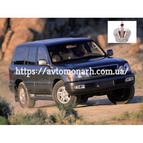 Заднее стекло Toyota Land Cruiser J100/Lexus LX470 (Внедорожник) на Toyota Land Cruiser J100 (Внедорожник)