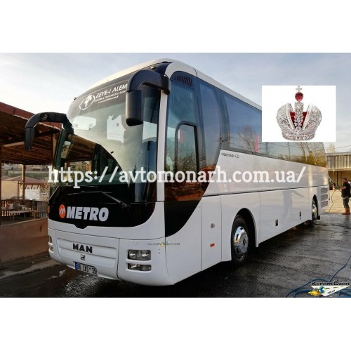 Лобовое стекло MAN Fortuna (3133) на MAN Fortuna (Автобус)