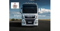 Автостекла на MAN TGA/TGX Sleeper Cab XXL 2000 -