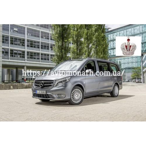 Лобовое стекло Mercedes W447 Vito/V-class (20231) на Mercedes Vito/V-class (Минивен)