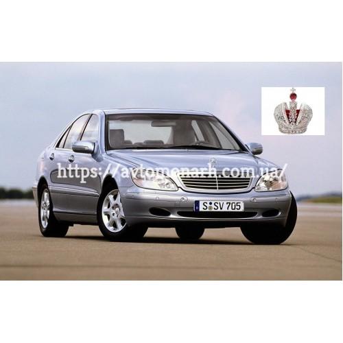 Держатель датчика влажности и света для Mercedes W220 S  (3621) на Mercedes W220 S (Седан)