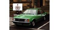 Автостекла на Opel Rekord E1 1982-1986
