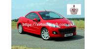 Автостекла на Peugeot 207 CC 2007-2011
