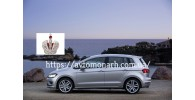 Автостекла на VW Golf Sportsvan 2014 -