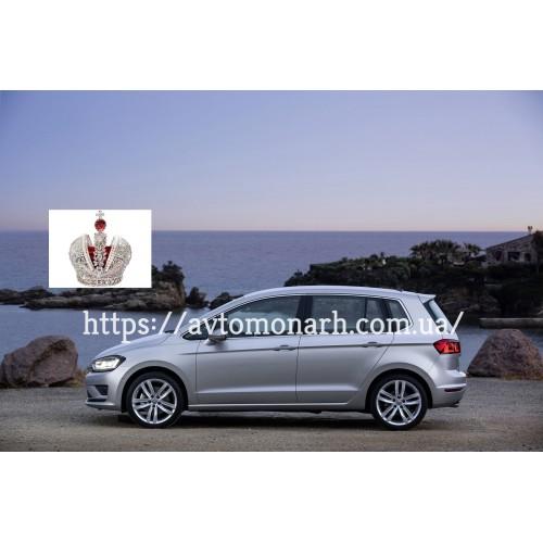 Левое боковое стекло VW Golf Sportsvan  (6379) на VW Golf Sportsvan (Минивен)