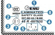 Статья: Основные принципы маркировки автостекла